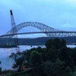 Ausblick von der Balkon-Seite (Puente de las Américas)