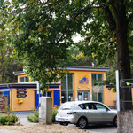 "Rezeption zum Campingplatz ""Helenesee"""