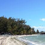 der Strand ist sehr schön