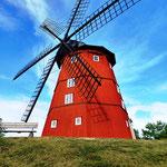 hübsche Windmühle