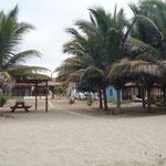 unser erster Stellplatz in Peru - direkt am Meer