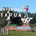 wir befinden uns im Departamentos (Bezirk) Itapúa