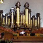 """Orgelkonzert im """"Tabernacle"""""""
