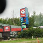 Dieselpreis - das sind Preise für die Gallone!