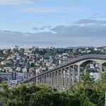 eine beeindruckende Brücke von über 1 km