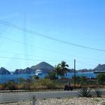 in Cabo San Lucas legen auch Kreuzfahrtschiffe an.