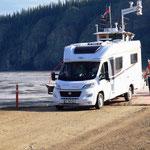 Fährüberfahrt von Dawson City
