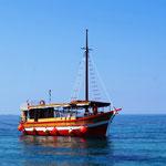 mit dem Schiff Rudolfo geht es nach Dubrovnik