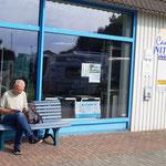 Stellplatz am Caravan-Salon Nitschke - sehr ruhig