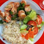 Camarones (Shrimps) unheimlich lecker!!!