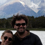 unsere sehr lieben Reiseleiter Estevan und Anamaria
