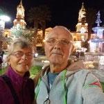 Auf dem Plaza de Amaz vor der Kathedrale