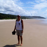 endloser Strand - gut zu bewandern