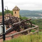 ... mit tollen Ausblicken auf Eisenach