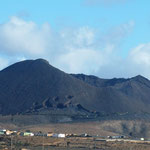 ziehmlich hohe Vulkanberge