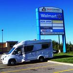 WalMart-Parkplatz in Niagara Falls