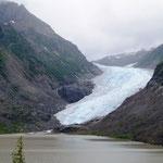 Fluss gefroren