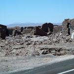 Ruinen eines verlassenen Dorfes