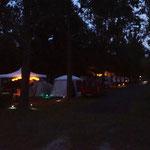 abendliche Campingstimmung