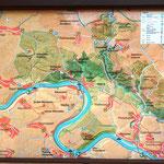 Wir stehen direkt an der Elbe und fahren ein ganzes Stück den Elbradweg