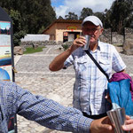ein Trunk am Äquator