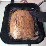am Abend gab es dann selbstgebackenes Brot! mmm lecker!