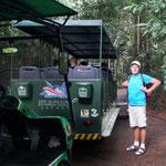 hiermit geht es durch den Dschungel zum Rio Iguacu