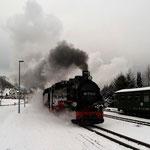 Es geht los mit der Fichtelberg-Bahn