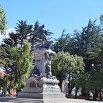 das Denkmal für Ferdinand Magellan