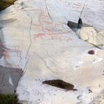 bis zu 7000 Jahre alte Felsmalereien