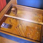 auch Knochenreste der Jesuiten-Pater wurden hier gefunden