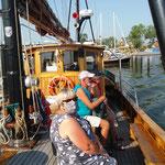 ein kleiner Ausflug mit Schiffchen nach Neuwarp (Polen)