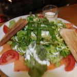 Salade Norvégienne Brasserie Les Hauts du Lac