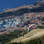 Ziel für Paragleiter in Monaco