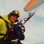 Beim Tandemfliegen in Werfenweng Startberg Bischling (Foto: Austriafly)