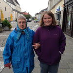 Grandma and Johanna in Wels