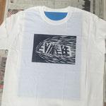 Tシャツにも印刷できます。一週間ほど乾燥させれば選択もOKです。
