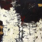"""Y   2013   Mixed media on canvas   100x80cm   39.4""""x31.5"""""""