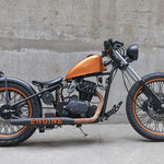 ENGINE Bike. In Zusammenarbeit mit Cleveland Motorcycles Schweiz. Foto: Adriano Tuozzo
