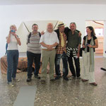 Besuch bei Wolf im Wolf Kahlen-Museum Bernau, wir planen schon 1qm Energie