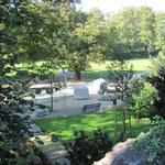 der Bernauer Stadtpark für einen Monat Mittelpunkt für das Symposion Steine ohne Grenzen