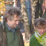 Frau Sabine Oswald-Göritz vom Kulturamt Bernau mit Gatte