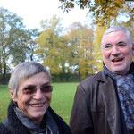langjährige Freunde des Symposions Frau und Herr Helmchen