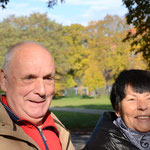 langjährige Freunde des Symposions Frau und Herr Schöllner