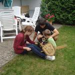Lisa, Christian und Luca