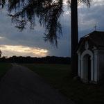 """Unsere Woifn-Kapelle in """"dramatischer"""" Abendstimmung"""