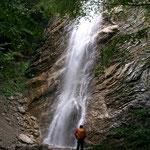 Wasserfall auf dem Weg zur Vorderalm