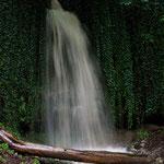 Wasserfall in der Biberschwell (bei Regenwetter)