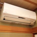 最新の大型エアコンを全室に設置