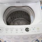 最新の5.5K洗濯機  外観はとてもコンパクトです。